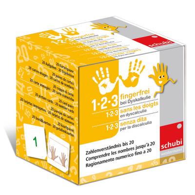 1-2-3 fingerfrei bei Dyskalkulie 1 - Zahlenverständnis bis 20