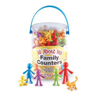 Meine Familie und Ich Rechnenfiguren (Set von 72)