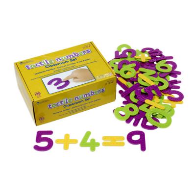 Unterrichtsset Zahlen und Rechenzeichen mit Oberflächenstruktur