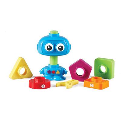 Zählen und Bauen mit dem Roboter