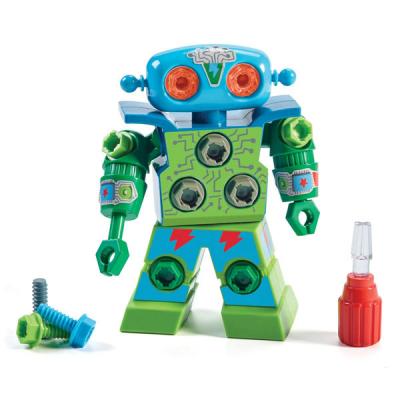 Roboter zum Bauen und Schrauben
