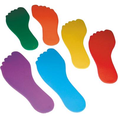 Bodenmarkierungs-Set Füße (6er Set)