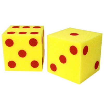 Giant Soft Dot Cubes (Set of 2)