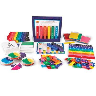 Lernsystem-Set in Regenbogenfarben