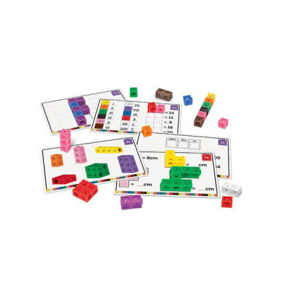 Mathlink® Steckwürfel-Set Ich beherrsche Mathe