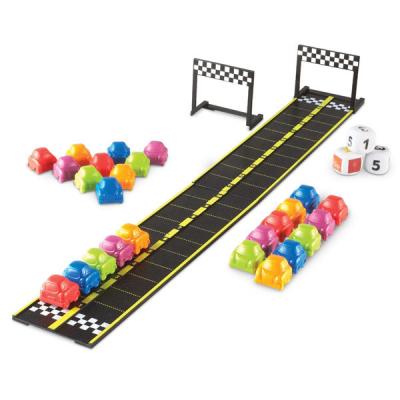 Mini-Autorennen – Rechenspiel-Set
