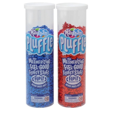 Playfoam Pluffle Blue & Red 2-Pack