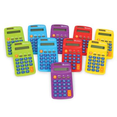 Taschenrechner in Regenbogenfarben