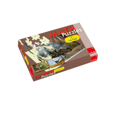 SCHUBI MATHpuzzles - Division bis 100