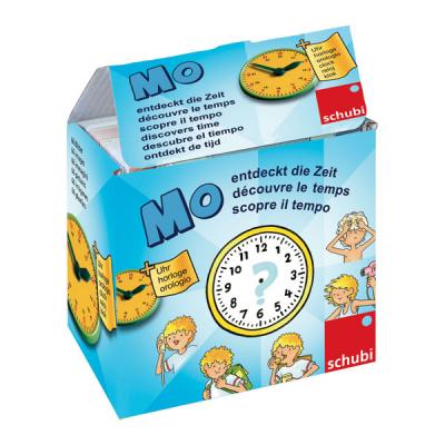 Mo entdeckt die Zeit - Bilderbox