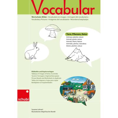 Schubi Vocabular - Dieren, planten en natuur - Kopieerbladen