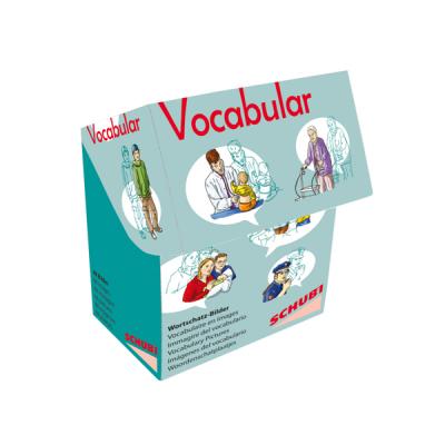 Schubi Vocabular Wortschatzbilder - Familie und soziales Umfeld