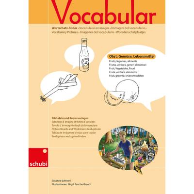 Vocabular - Kopiervorlagen - Obst, Gemüse, Lebensmittel
