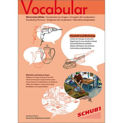 Vocabular - Kopiervorlagen - Haushaltsgegenstände und Werkzeug