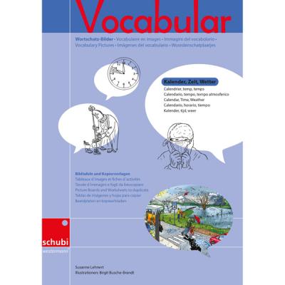 Vocabular - Kopiervorlagen - Kalender, Zeit, Wetter