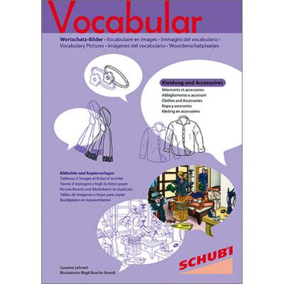 Vocabular - Kopiervorlagen - Kleidung und Accessoires