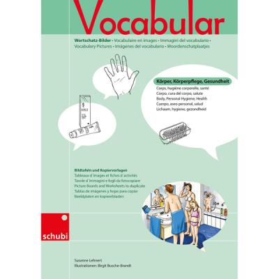 Vocabular - Kopiervorlagen - Körper, Körperpflege, Gesundheit