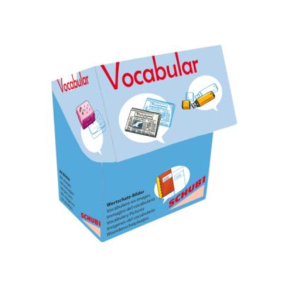 Schubi Vocabular Wortschatzbilder - Schule, Medien, Kommunikation