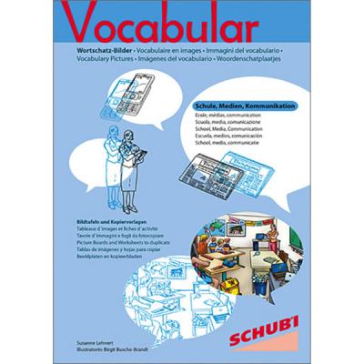 Vocabular - Kopiervorlagen - Schule, Medien, Kommunikation