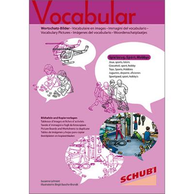 Vocabular - Kopiervorlagen - Spielzeug, Sport, Freizeit, Hobbys