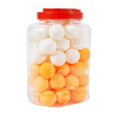 Eimer mit 60 Tischtennisbällen