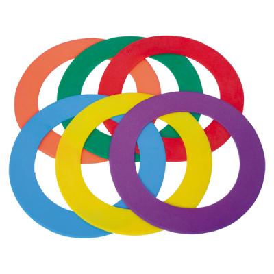 Vloermarkeringen cirkels (set van 6)