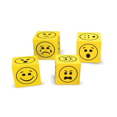 Zachte emoji dobbelstenen (set van 200)